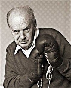 More Nabokov ... This is the polar opposite of the Hemingway boxing photo. But, even so, you can also tell just about everything you need to know about Nabokov from this portrait.