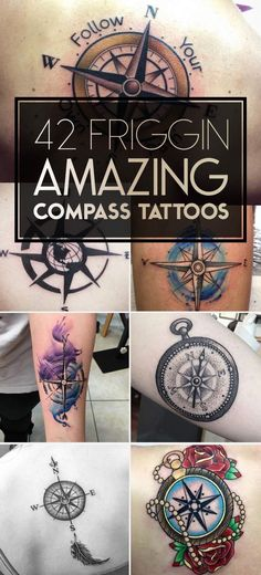 Tatto Ideas 2017  Nautical Compass Tattoo Designs