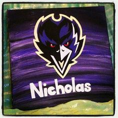 Baltimore Raven's custom name! I did this for my nephew for Christmas! Custom team logos and names available on my Etsy!