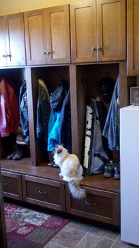 Mud Room Closet Ideas | Mudroom Lockers - traditional - closet - minneapolis