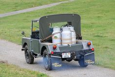 Land Rover 80 Serie One pickup. MILK - 2
