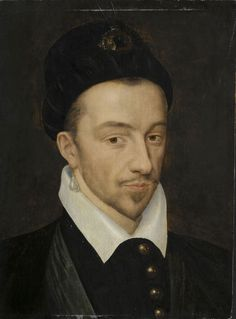 François Clouet - Henri III. The troubled Valois king of France during the terrible religious wars of the sixteenth century. He was murdered by the fanatic Jacques Clement.