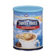 Swiss Miss Milk Chocolate Hot Cocoa Mix, 39.4 oz ❤ liked on Polyvore featuring food, food and drink, comida and groceries