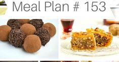 ΤΟ ΜΕΝΟΥ ΤΗΣ ΕΒΔΟΜΑΔΑΣ // WEEKLY MEAL PLAN # 153 by Ioanna Limberopoulou Meals For The Week, Meal Planning, Muffin, Easy Meals, Breakfast, Simple, Desserts, Recipes, Food