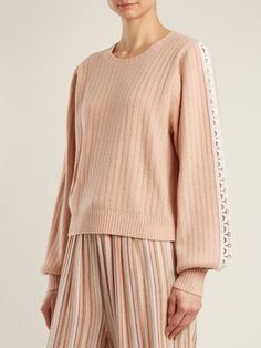 Balloon-sleeved wool-blend sweater | See By Chloé | MATCHESFASHION.COM US