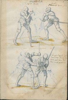 Manuel de combat à l'épée - 1500