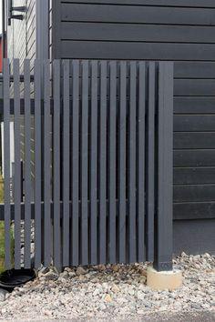 Front Yard Fence, Front Gates, Fence Gate, Modern Fence Design, Steel Fence, Garden Gates, Black Garden Fence, Black Fence, Gate Design