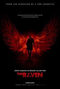 New 'The Raven' Poster, Opens April 27, 2012