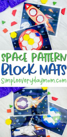 Space Pattern Block Mats