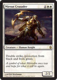 Mirran-Crusader-x4-Magic-the-Gathering-4x-Mirrodin-Besieged-mtg-card-lot