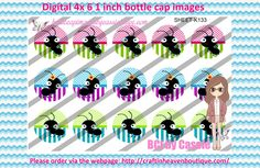 1' Bottle caps (4x6) Digital colourful ants K133   PLEASE VISIT http://craftinheavenboutique.com/AND USE COUPON CODE thankyou25 FOR 25% OFF YOUR FIRST ORDER OVER $10! #bottlecap #BCI #shrinkydinkimages #bowcenters #hairbows #bowmaking #ironon #printables #printyourself #digitaltransfer #doityourself #transfer #ribbongraphics #ribbon #shirtprint #tshirt #digitalart #diy #digital #graphicdesign please purchase via link http://craftinheavenboutique.com