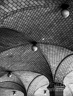 Gaustavino Vaulting - photograph by James Aiken james-aiken.artistwebsites.com #jamesaiken #architecturephotography #newyorkcity
