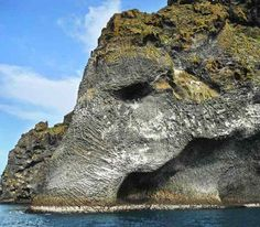 Elephant Rock (Iceland) - The Elephant Rock is a natural rock formation. It is believed that this is formed by the erruption of a 201 metres volcano. By sheer coincidence it resembles the figure of an elephant.Want to discover more hidden gems in Europe? All of them can be found on www.broscene.com
