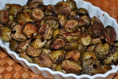 Balsamic Glazed Brussels Sprouts | New Paradigm Health Cookery | Information and Recipes about New Health Enhancing, Whole Food, Plant-Based Diet