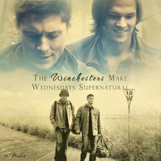 Supernatural! After 102 days they're gonna make Tuesdays Supernaturally fun!