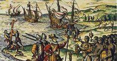 1400 - 1750       1. Uusi aika alkaa    Löytöretkistä alkoi Euroopan nousu maailman johtavaksi mantereeksi. Löytöretket globalisaation al... Conquistador, Image Search, Tapestry, World, Painting, Art, Historia, Hanging Tapestry, Art Background
