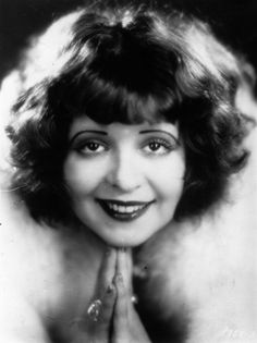 "Clara Bow, the original ""It Girl"", 1926"