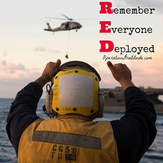 Every day is a good day to thank and support our nation's heroes! Please join us!  If your loved one is deployed, please visit our website (link in bio) to request a FREE Operation Gratitude #carepackage today.  Caption: Petty Officer 3rd Class David Guerra signals to an MH-60S Sea Hawk helicopter carrying supplies during a replenishment-at-sea aboard the guided-missile cruiser USS Philippine Sea (CG 58). Philippine Sea is underway conducting a Composite Training Unit Exercise (COMPTU...