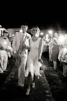Love this Art deco wedding!!