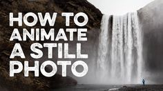 How To Animate a Still Photo Like a Plotagraph in Adobe Photoshop
