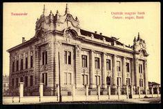Temesvár Osztrák-Magyar Bank | Gallery | Hungaricana Vintage Architecture, Bucharest Romania, Interactive Map, Louvre, Gallery, Postcards, Travel, Ebay, Buildings
