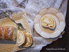 Kääpiölinnan köökissä: Gluteeniton appelsiinikääretorttu ♥