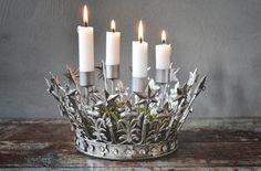 Bilde av Adventsstake sølvkrone d 25