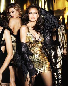 Bradley Cooper's supermodel beau, Irina Shayk, also joins the star-studded cast alongside Karlie Kloss