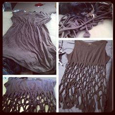 DIY bikini cover-up by @andrea's choice
