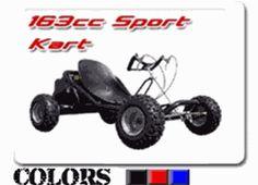 ScooterX 163cc Sport Go Kart Racer, top speed 40-45 mph, $799.88