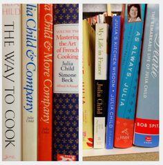 A few of my Julia books! | The Culinary Cellar