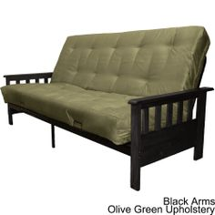 Provo Queen-size Mission-style Frame/Mattress Futon Set   Overstock.com Shopping - Great Deals on Futons