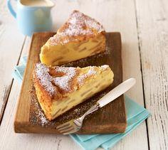 Apfeltorte mit Grieß - Ein saftiger Apfelkuchen mit Quark zum Geburtstag oder anderen Festen