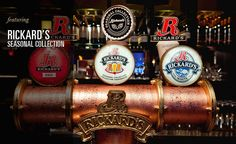 If you love Rickard's Beer than you will love what we have on tap at Weinkeller! Come enjoy one at our bar! Clifton Hill, Niagara Falls, Beer, Dining, Drinks, Interior, Wine Cellars, Root Beer, Drinking