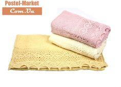 Набор махровых полотенец 30*50 S.L. LACE-1 в коробке купить в интернет магазине Постель Маркет (Киев, Украина )