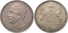 Braunschweig-Calenberg-Hannover Georg V. 1851-1866. Taler 1859 B Vorzüglich - Stempelglanz