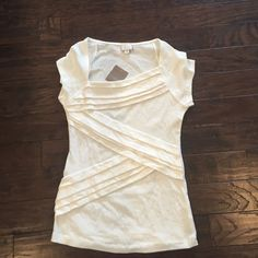 Anthropologie top Postmark cream top. New with tags! Anthropologie Tops Camisoles