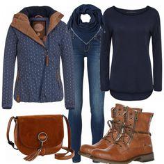 Freizeit Outfits: AnkerHerz bei FrauenOutfits.de FrauenOutfits.de ___ Dieses schöne herbstliche Damenoutfit ist genau das richtige für den Alltag und jegliche Freizeitaktivitäten. Der Wohlfühl-Look bestehend aus einem schlichten Oberteil, einer skinny Jeans und schönen Stiefeln bzw. Stiefeletten eignet sich super für die etwas kälteren Herbsttage.