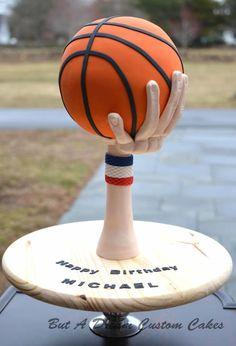 Basketball Cake - Cake by Elisabeth Palatiello