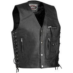 Save $ 33 order now River Road 4-Pocket Men's Leather Harley Cruiser Motor