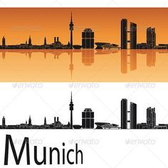Munich Skyline in Orange Background  #GraphicRiver         Munich skyline in orange background in editable vector file     Created: 1May13 GraphicsFilesIncluded: LayeredPNG #JPGImage #VectorEPS Layered: Yes MinimumAdobeCSVersion: CS Tags: architecture #backgrounds #black #building #city #cityscape #destination #downtown #europe #germany #horizon #illustration #isolated #landmark #landscape #metropolis #munich #orange #outline #panorama #place #reflected #silhouette #skyline #skyscraper…