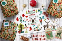 40% OFF!! The Complete Christmas Collection By GraphikCliparts