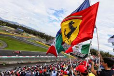 The fans at the Autodromo Hermanos Rodriguez loving Formula One's return to Mexico.