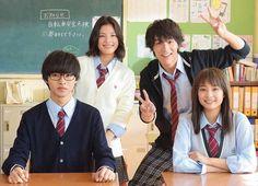 """Kento Yamazaki x Taishi Nakagawa x Suzu Hirose x Anna Ishii, BTS, J LA movie """" Shigatsu wa kimi no uso (your lie in April)"""". Release: Sep/10/2016"""