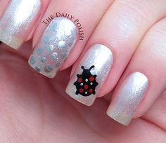 The Daily Polish - http://thedailypolish.com/marc-jacobs-dot-inspired-nail-art/