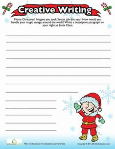 creative writing holiday