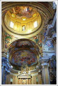 Church of the Gesù     Rome (Italy).  #travel