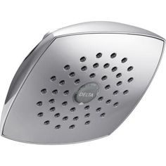 Delta RP64859 Single Function Shower Head with Touch Clean (Stainless Steel (Silver) Finish)