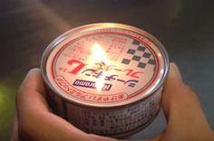 非常時に超便利な「ツナ缶ランプ」警視庁も太鼓判を押すほど!!