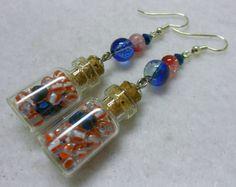 Patriotic Earrings, 4th of July Earrings, Red, White and Blue Jewelry, Patriotic Jewelry, 4th of July Jewelry